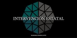 intervención estatal