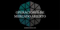 operaciones de de mercado abierto