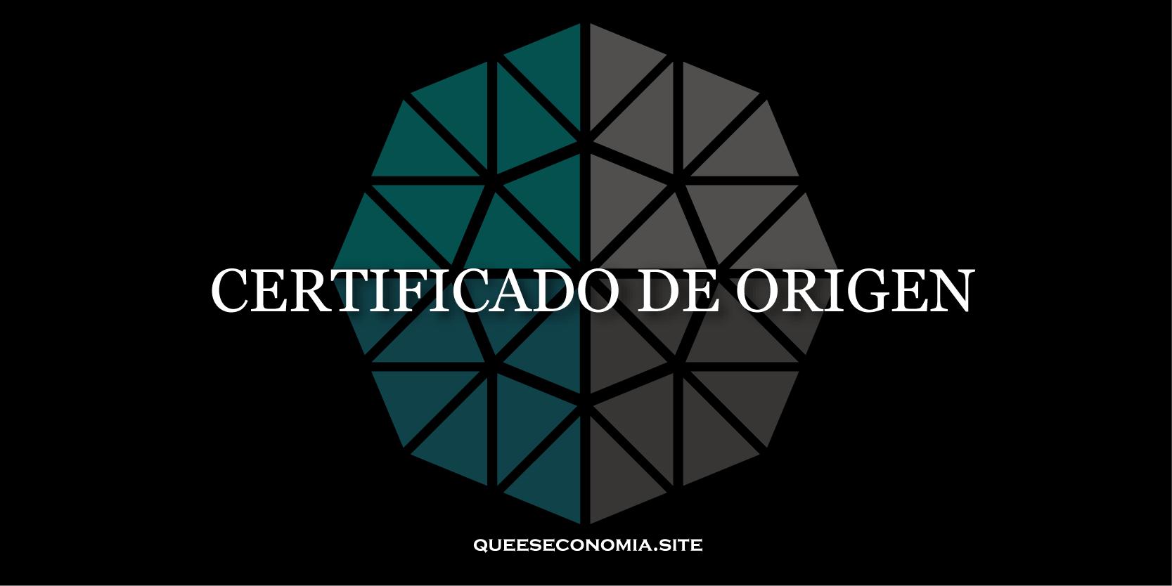 certificado de origen