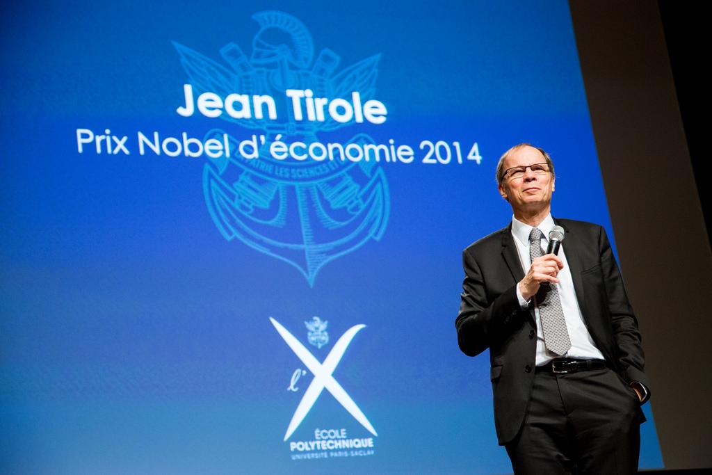 Jean Tirole, Premio Nobel 2014