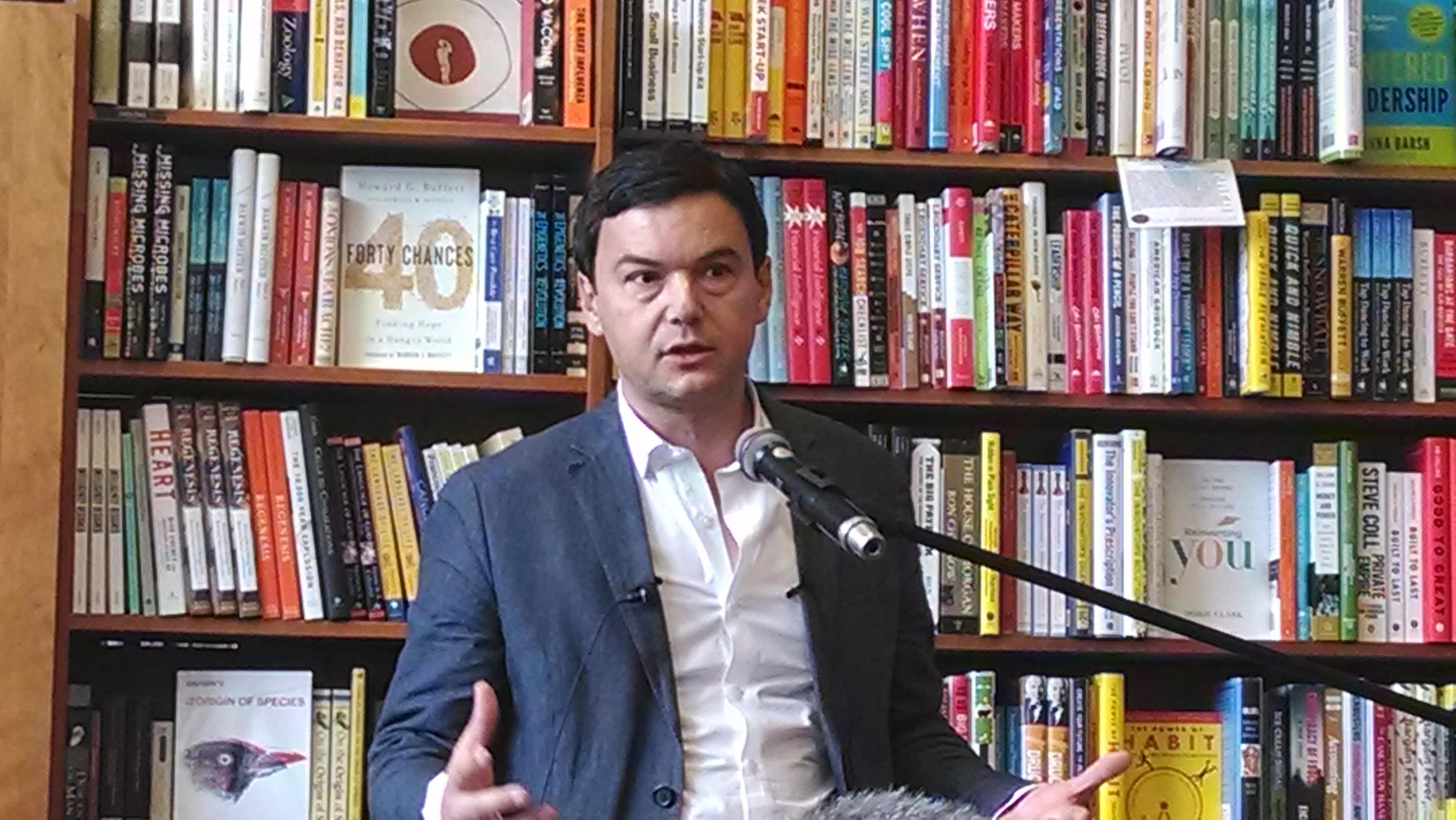Thomas Piketty, economista de izquierda con ideas frescas
