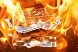 eliminación del papel moneda