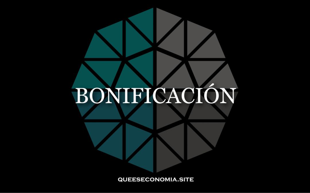 BONIFICACIÓN