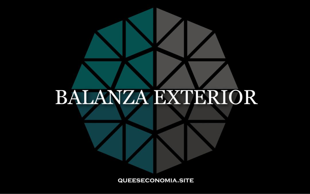 BALANZA EXTERIOR